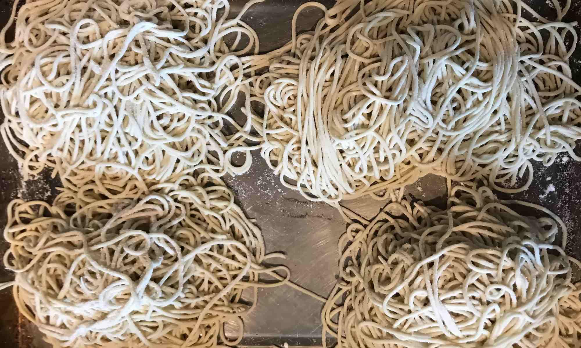Homemade Ramen Noodles - Pollensa Private Chefs