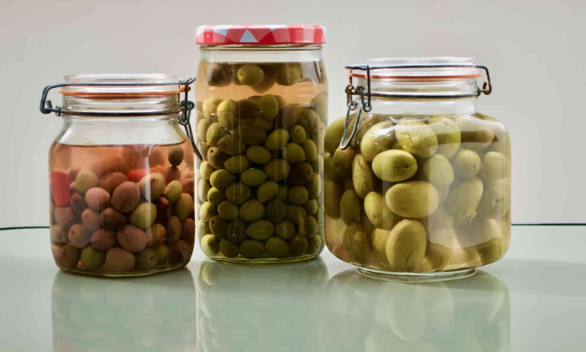 Homemade olives in jars - Pollensa Private Chefs