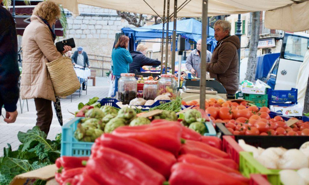 Local market in Mallorca - Market tour - Pollensa Private Chefs