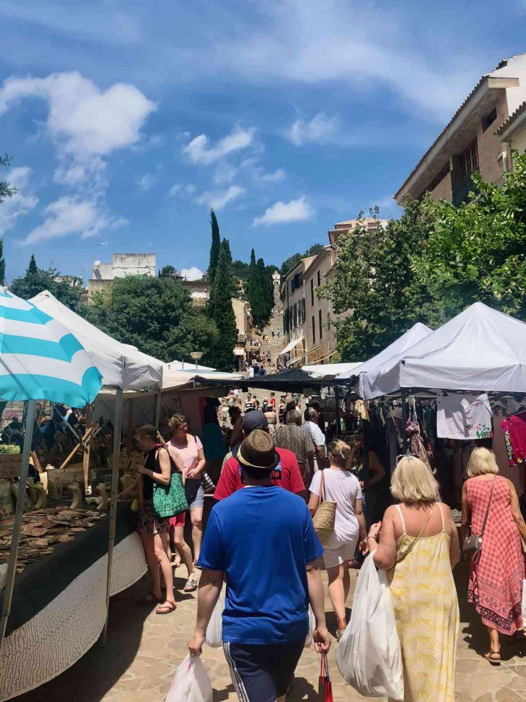 Pollensa market & Calvari steps - About Pollensa - Pollensa Private Chefs